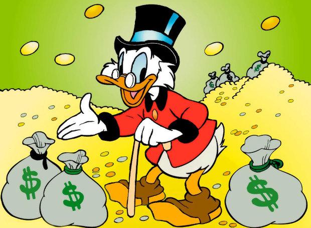 Ποια είναι η ποιο πλούσια πάπια του κόσμου?? Χθες είχε γενέθλια…